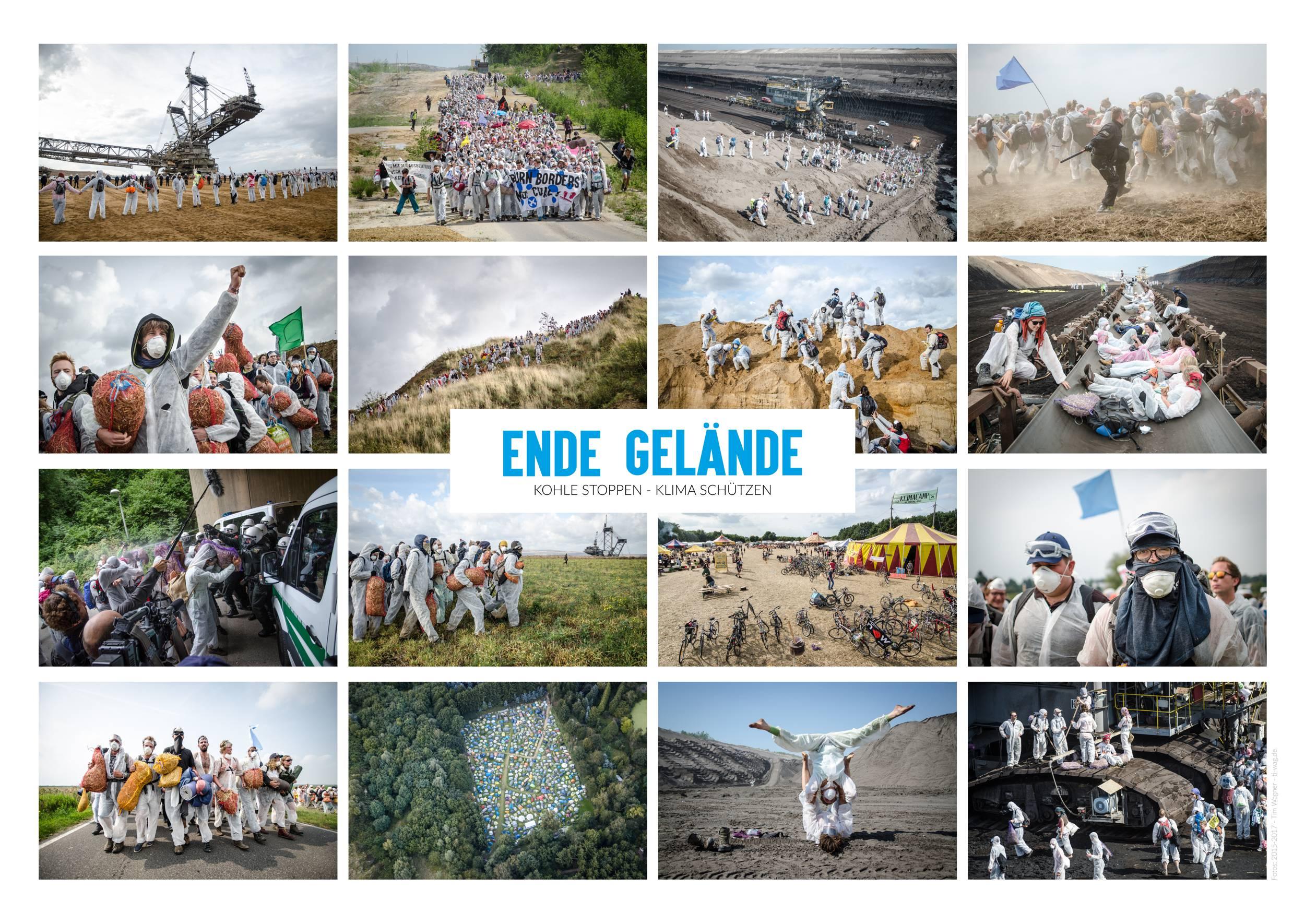 September 2018 - Ende-Gelände-Poster